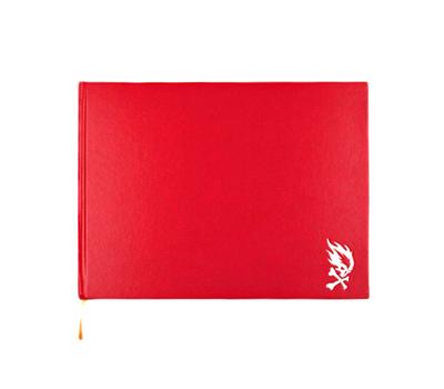 Скетчбук Pyromaniac A4 Красный, фото 1